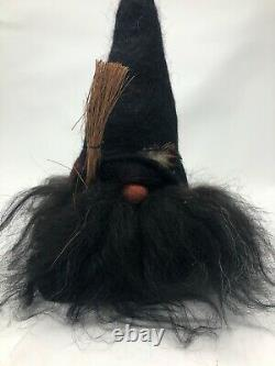 NWT Rare HALLOWEEN TOMTEBOD Sweden 13 WITCH TYRA Lambswool felt