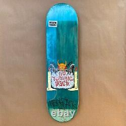 Neckface Signed No Turning Back Skateboard Deck Halloween Graffiti Art Rare