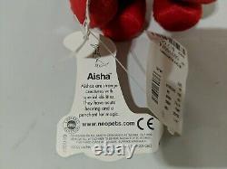 Neopets Halloween Red Aisha Rare Limited Edition 2002 Plush Petpet NWT