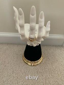 New 2021 Bath & Body Works Halloween VAMPIRE HAND Candle Holder VHTF RARE