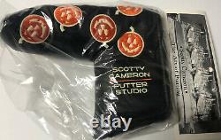 New! Scotty Cameron 2005 Halloween Jack O Lantern Pumpkins Headcover Rare. BNIB