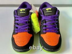 Nike SB Dunk Low Pro Night of Mischief Halloween Rare Size 9.5 Men