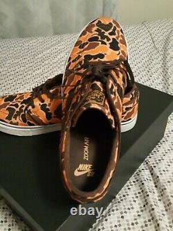 Nike SB Stefan Janoski Camo Canvas 11.5 Halloween Rare, Sample, QS, skateboard, TZ
