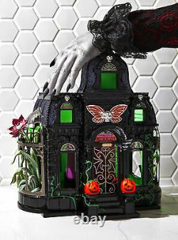 RARE Bath and Body Works Halloween 2021 Haunted House Luminary Candle Holder