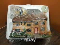 RARE! Hawthorne Simpsons Halloween Village Family Home Homer In A Box Accessory