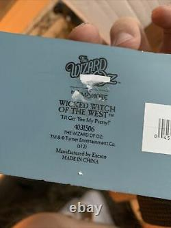 RARE NIB Jim Shore Wizard of Oz Wicked Witch Of The West Figurine 7.625 4031506