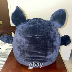 RARE SQUISHMALLOW Halloween EMILY 2020 Bat 12 All-Black Stuffed Plush