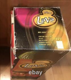 RARE Vintage Halloween pumpkin Lava Lamp New Box Unused Tested Complete