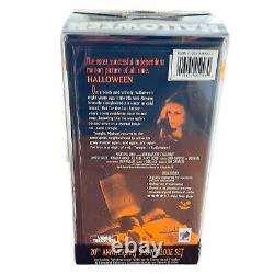 Rare HALLOWEEN 20th Anniversary Bloody Snow Globe VHS 1998 Set Michael Myers NIB