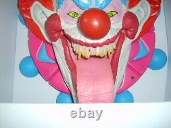 Rare Light Up Clown Head Halloween Prop Display Sample Figure