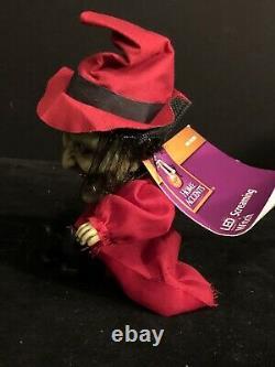 Rare Vintage Crimson Witch Halloween 5 Big Head Screamer Nwt
