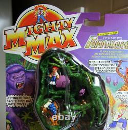 Rare Vintage Mighty Max Doom Zones Ape King Greek Mattel 1993 New Sealed