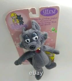 Salem Cat Plush Doll Sabrina Teenage Witch Animated TV Show Riverdale RARE New