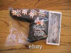 Scotty Cameron Titleist 2007 Halloween Skull And Bones Headcover New Rare Pga