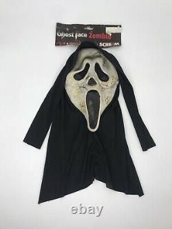 Scream 2 3 4 Ghost Face Zombie Super Rare Fun World Easter Unlimited Mask #88490