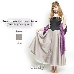 Secret Honey Briar Rose dress Disney Tokyo Japan Halloween Cosplay Costume Rare