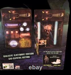 Spirit Halloween RARE High Voltage Animated/sound Throw the Switch Prop