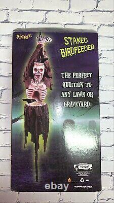 Spirit Halloween Staked Birdfeeder 6ft Tall W Built In Trays Retired Prop Rare