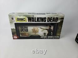 The Walking Dead Sheriff Rick Grimes Badge and Name Tag Prop Replica Rare 80293