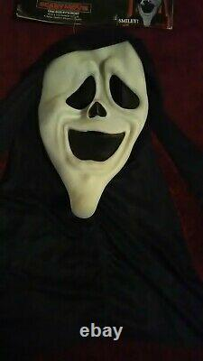 Vtg Fun World Ghost Face Spoof Mask Scary Movie Smiley 93 Easter Unlimited Rare