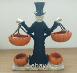 Yankee Candle Boney Bunch Skull Double Tart Warmer Halloween! BNWOB Rare